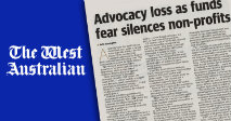 Advocacy loss as funds fear silences non-profits